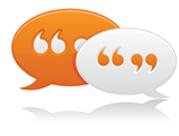 Contact Us Speech Bubble Image