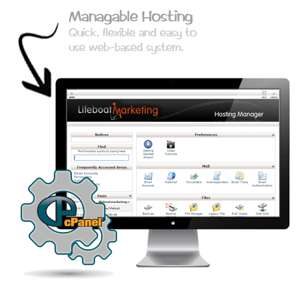 Lifeboat Marketing - Web Services - Web Hosting Image